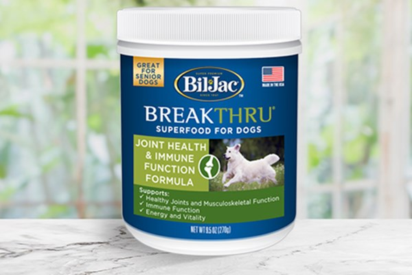 Breakthrough superfood joint health formula for dogs